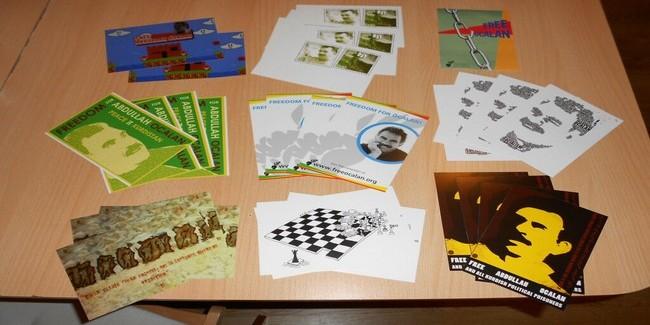 Una cartolina per Öcalan