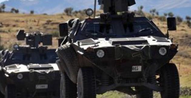 Il ministero degli interni:in atto la costruzione di 102 postazioni militari