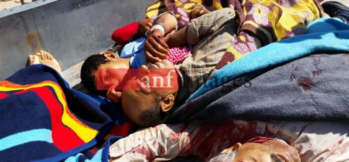 Il numero delle vittime del massacro a Kobanê sale a 201