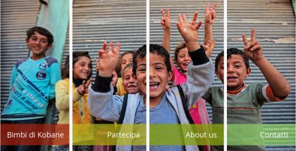 bambini di Kobane