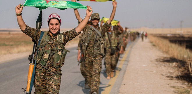La Resistenza oggi- L'esperienza del popolo curdo nel Rojava-Pavia