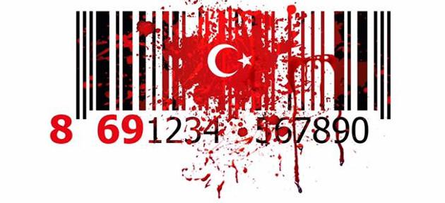 Boicotta il regime fascista e sanguinario turco