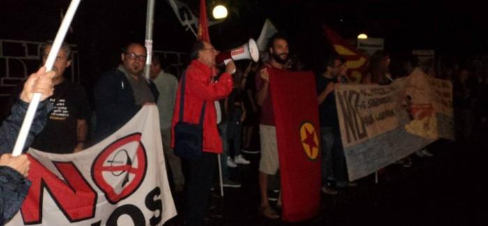 Catania, contestata la ministra Pinotti alla festa del Pd – Attivisti No Muos solidali con la resistenza kurda
