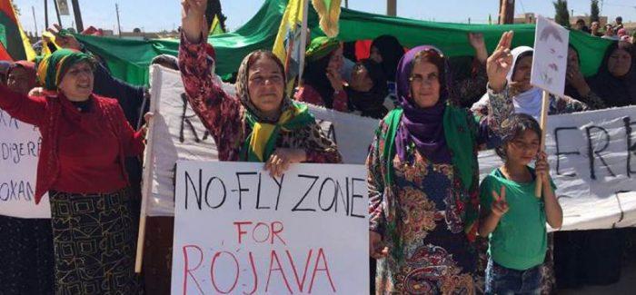 Avviata una campagna sui social media per una no-fly zone sul Rojava