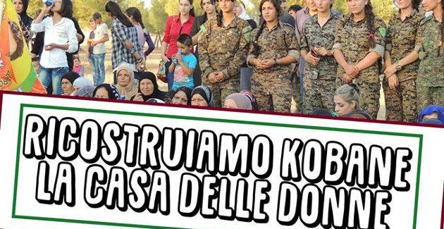 Ricostruiamo Kobane incontro con Carla Centioni/Casa delle donne- Cagliari