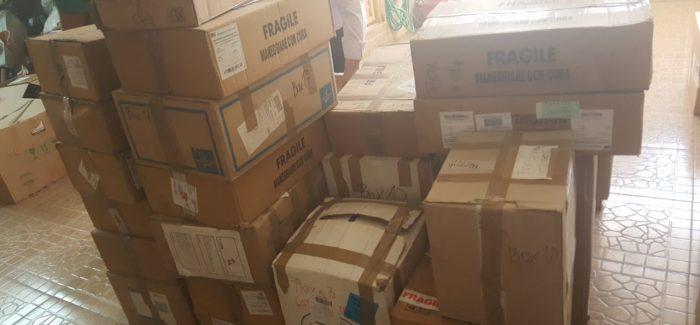 350 kg di Medicinali raccolti ed inviati in Rojava