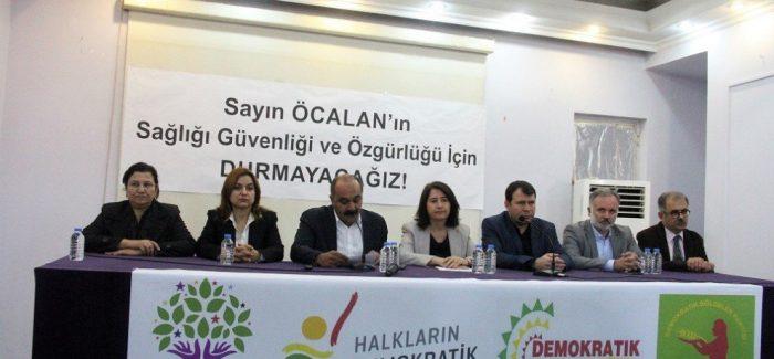 HDP, HDK, DBP e il DTK rilasciano una dichiarazione sull'isolamento di Öcalan