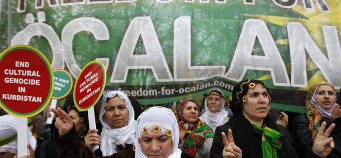 Presidio per la libertà di Ocalan- Roma