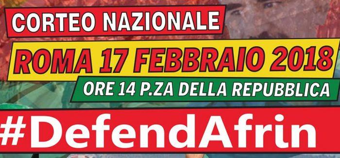 DefendAfrin – Autobus dalla Puglia per Roma