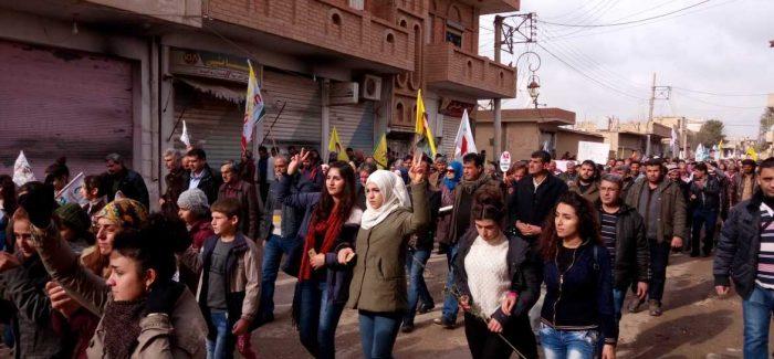 Un appello alla solidarietà: difendi Afrin – difendi l'umanità!