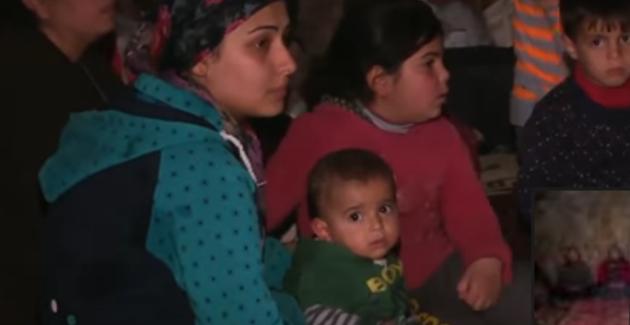 Afrin: i civili in fuga dagli attacchi aerei turchi ricorrono alle grotte-Video