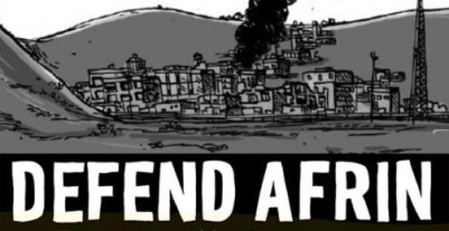 Presidio per Afrin- Arco della Pace- Milano