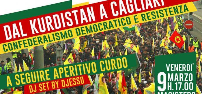 Dal Kurdistan a Cagliari: Confederalismo Democratico e Resistenza- Cagliari