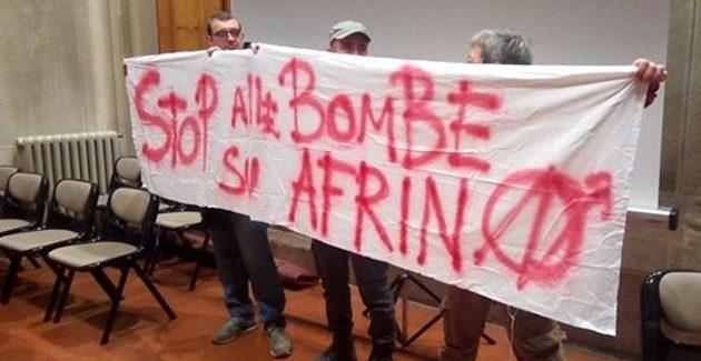 Condanna dei bombardamenti della Turchia contro la città di Afrin- Odg Comune di Empoli