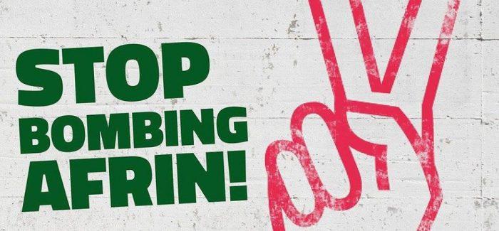 Torino per Afrin: Sabato 17 Marzo – Ore 18 Fronte Porta Nuova