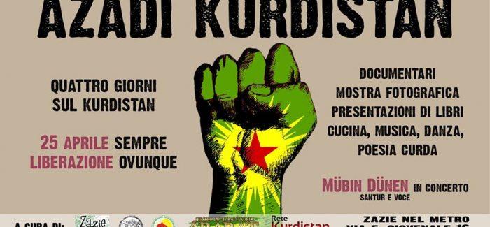 Azadi Kurdistan: quattro giorni sul Kurdistan