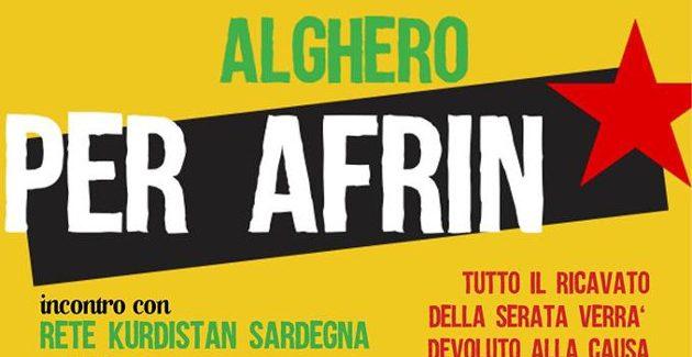 Alghero per Afrin