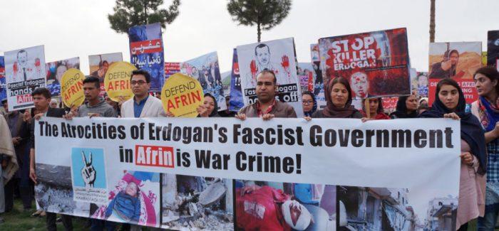 Presidio contro l'invasione turca del Kurdistan-Palermo