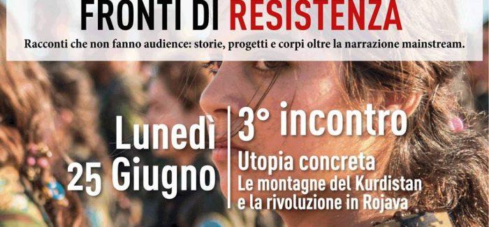 """Presentazione del libro """"Utopia Concreta"""" racconti dal Kurdistan- Roma"""