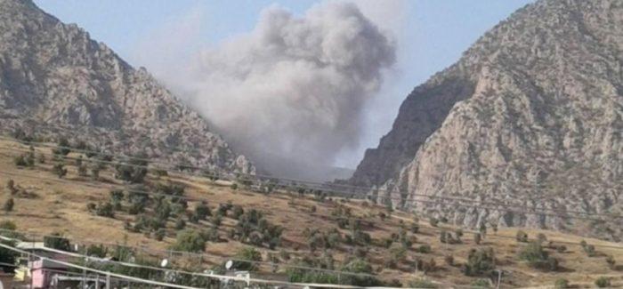 Bombardamento fa divampare un incendio esteso a Bradost
