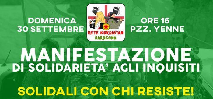 Solidali con chi Resiste! -Cagliari