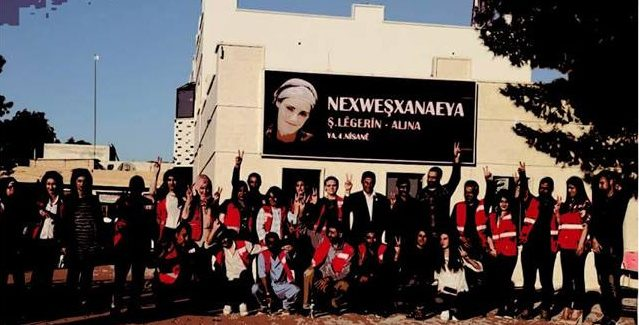 Incontro con i Co-presidenti di Heyvasor a Kurd – Rojava- Roma