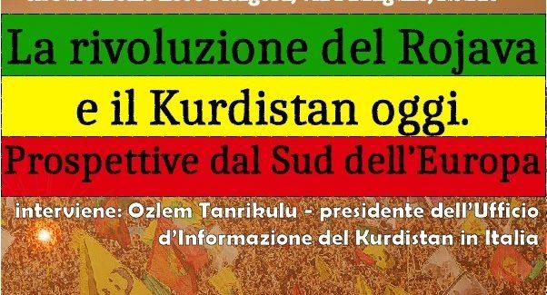 La rivoluzione del Rojava e Il Kurdistan oggi-Cosenza