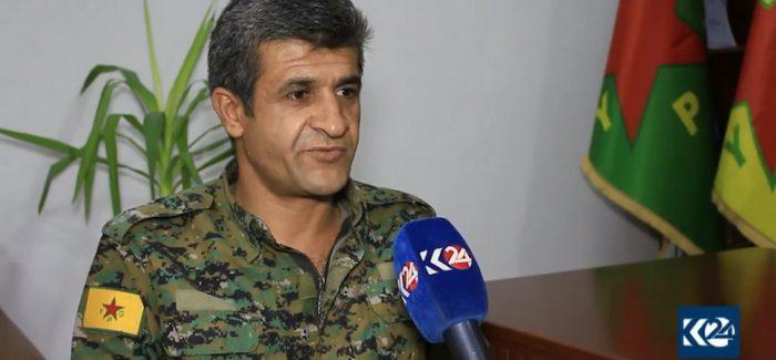 Nouri Mahmoud portavoce delleYPG afferma che la Turchia vuole destabilizzare il nord est della Siria