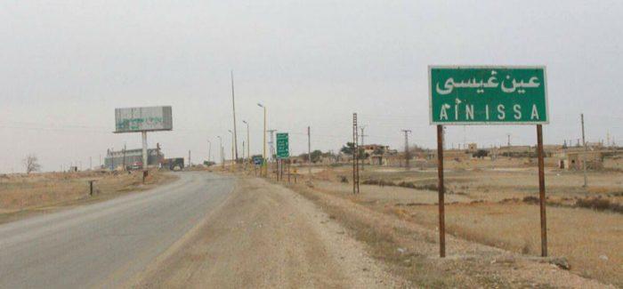 Truppe di invasione attaccano villaggi nei pressi di Ain Issa