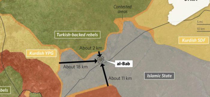 Cosa sta succedendo sui fronti di Bab e Manbij, Chi sta pianificando cosa?