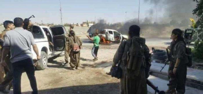 Kerkuk: Le forze Peshmerga hanno lasciato la citta, popolazione e guerriglia in resistenza