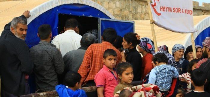 Rapporto sui Profughi: Campi a Shahba