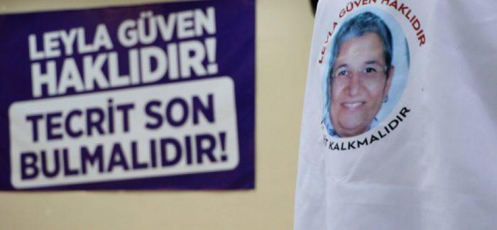Il DTK invita l'opinone pubblica ad agire mentre Leyla Güven è giunta al 41 ° giorno di digiuno